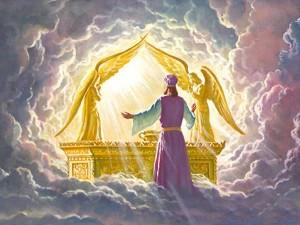 prononciation correcte des mots Hebreux en rituellie Kabbalistique. Ark-of-covenant-glory-of-God-300x225
