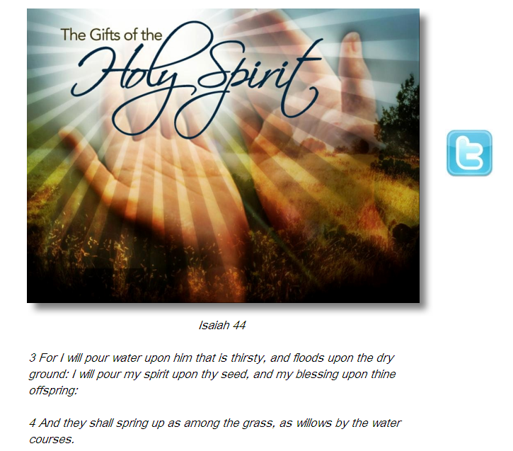 The Holy Ghost Is A Consuming Fire (You Must Watch Or Hear