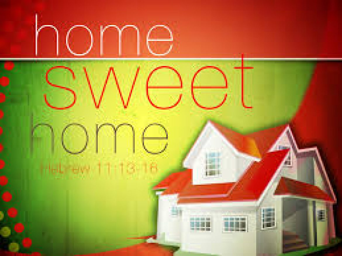 Home, Sweet Home: God's Covenant with the House of His Saints