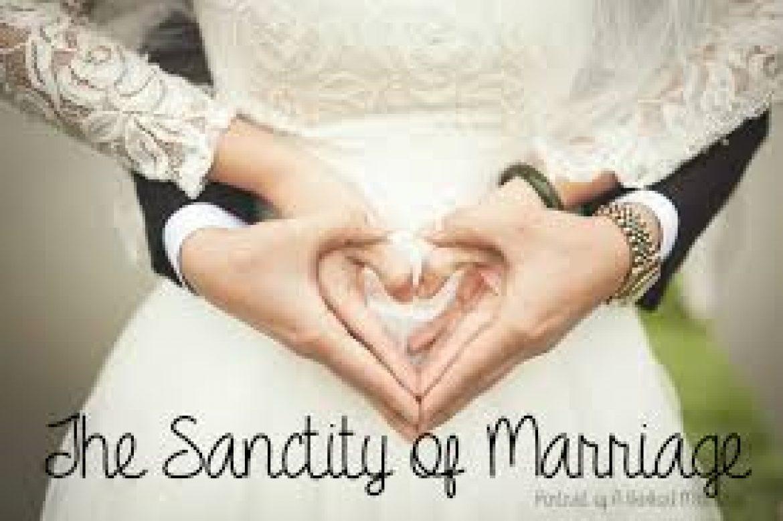 Same-Sex Marriage: Blasphemy