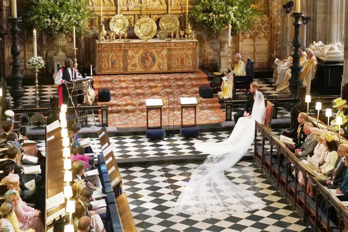 The Royal Wedding Garment for the Bride