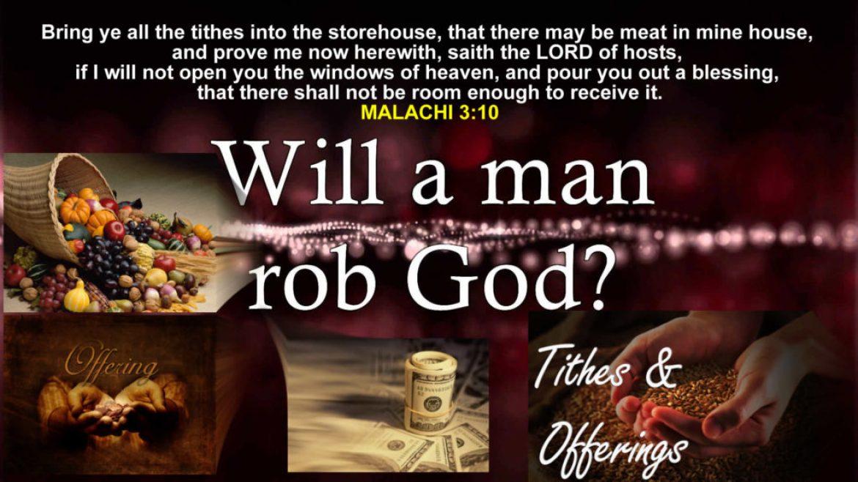Your Bank Account is God's Treasure
