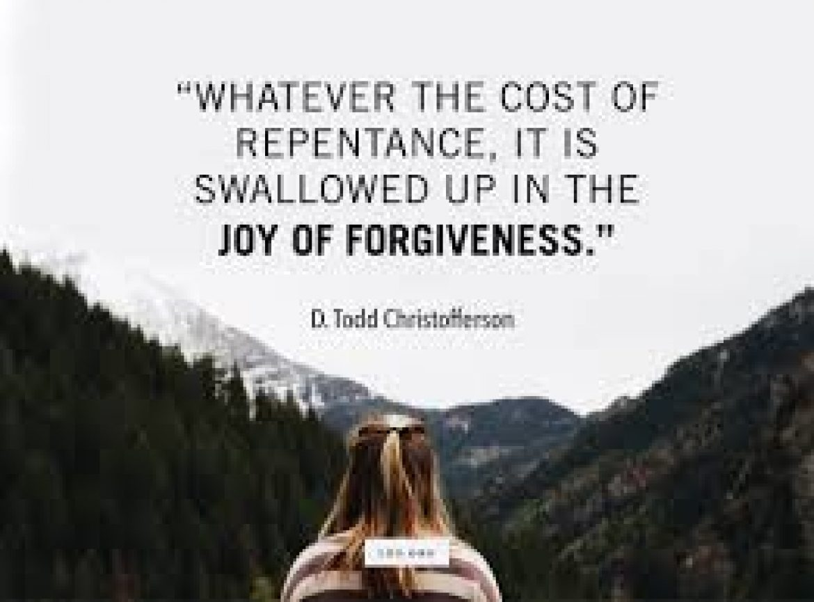 REPENTANCE : TURNING FROM SELF-LIFE